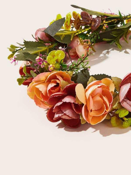 Bold Floral Headband - House of Angelica
