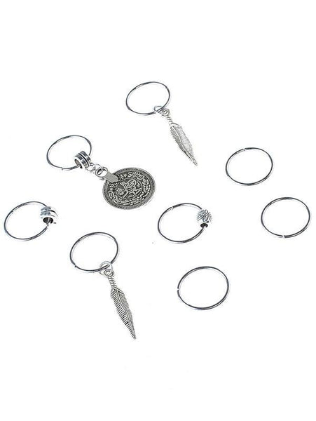 Hair Rings - Assorted - 4 per pack - House of Angelica