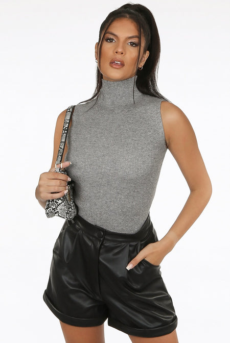 Aubrielle Crop Top- Black