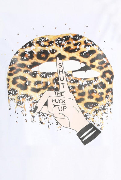 SHUT THE F@#% UP Tee