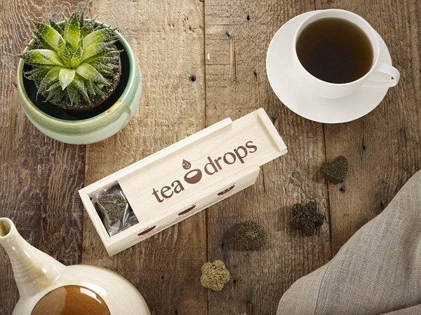 Tea Drops- Medium Wood Box