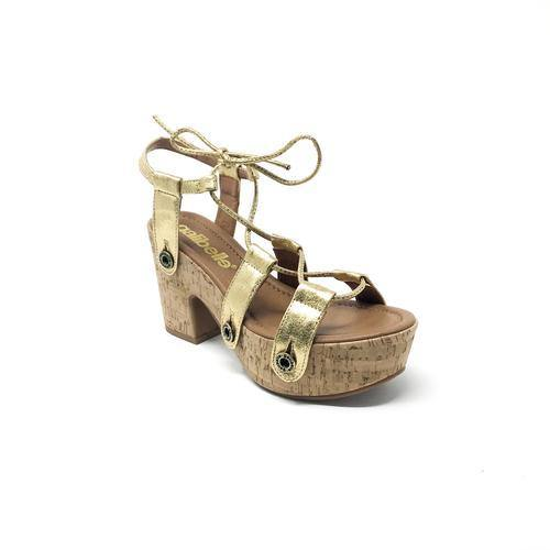 Galibelle - STRAPS - Gold Lace-up