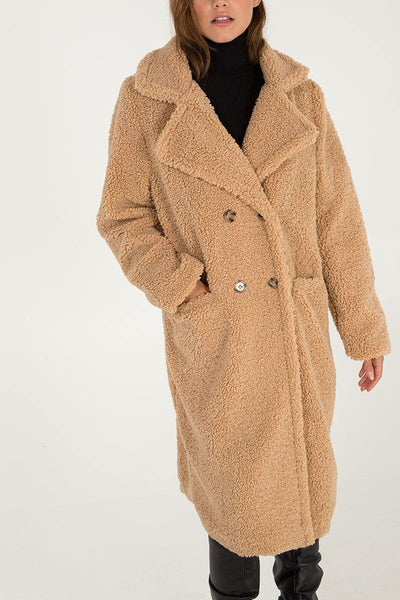 Thalia Teddy Coat