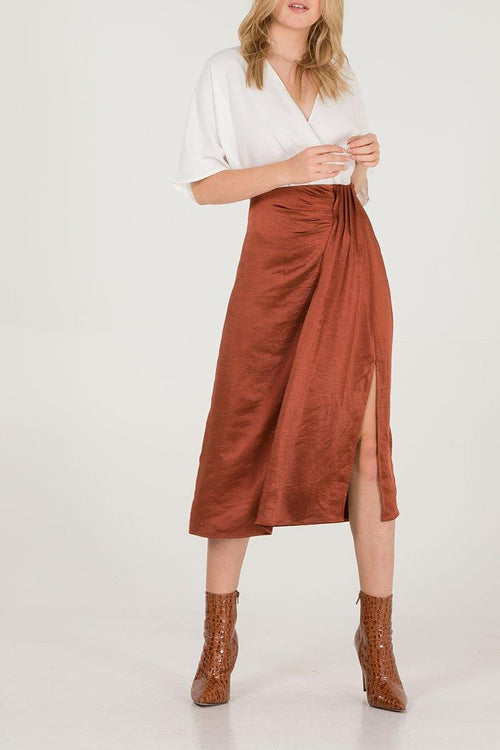 Natassia Midi Skirt - House of Angelica
