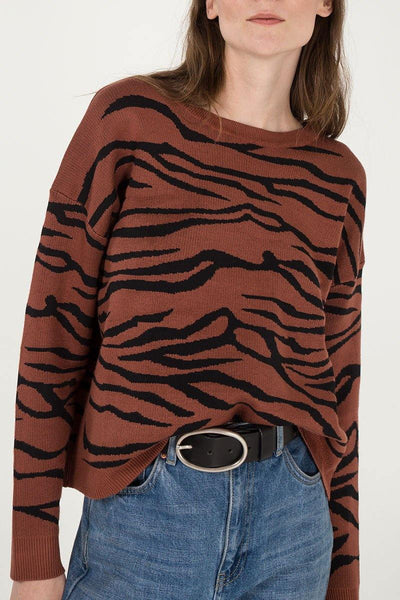 Jane Of The Jungle Sweater - House of Angelica