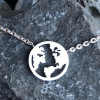 Necklace - World - Silver