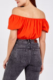 Kennedy Crop- Red