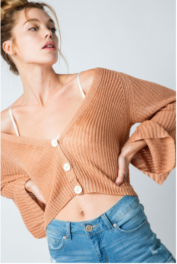 Ariel Crop Sweater