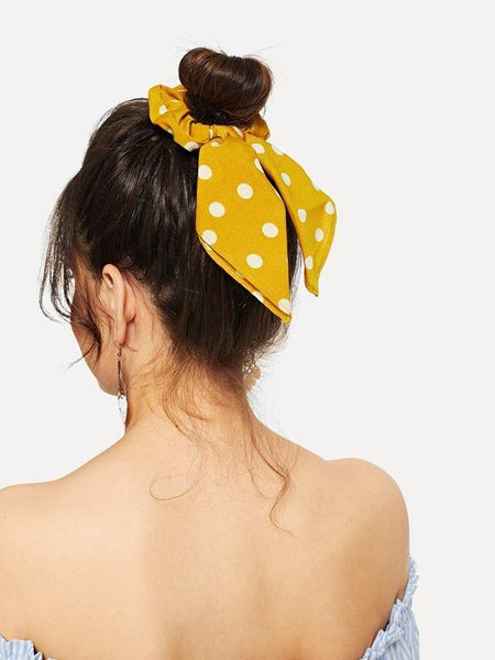 Scrunchies Scarf - Patterned