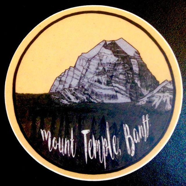 Assorted Banff Stickers