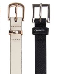 Tahari Skinny Belt - Tan - House of Angelica