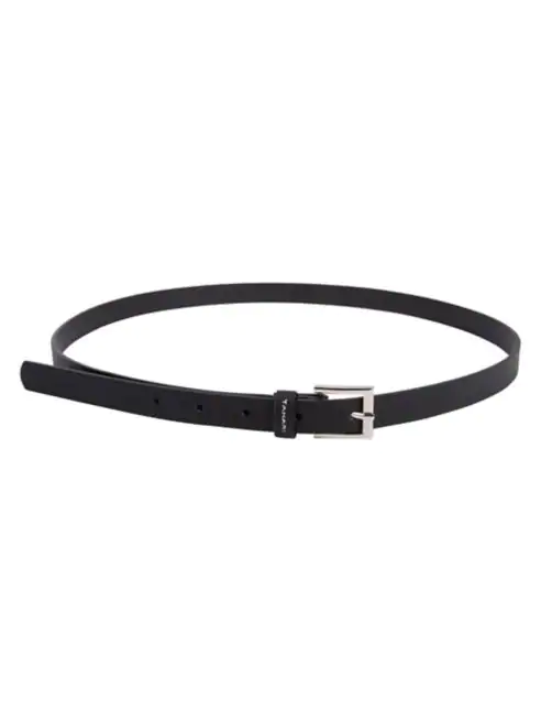 Tahari Skinny Belt - Black - House of Angelica