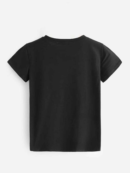 Setting Sun T-Shirt - Black