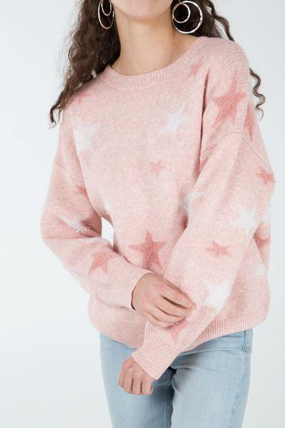 Lisha Star Sweater - House of Angelica