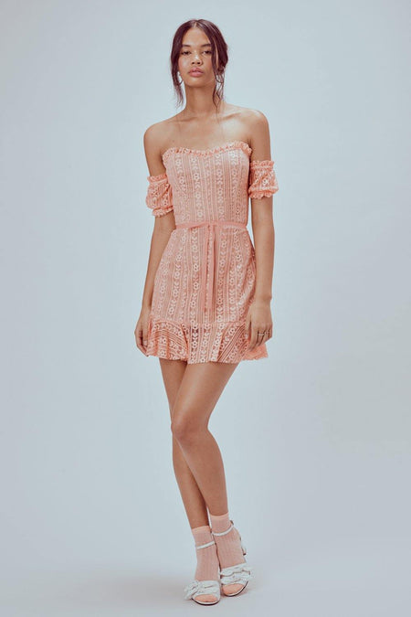 Dorothy Ruffled Midi Dress