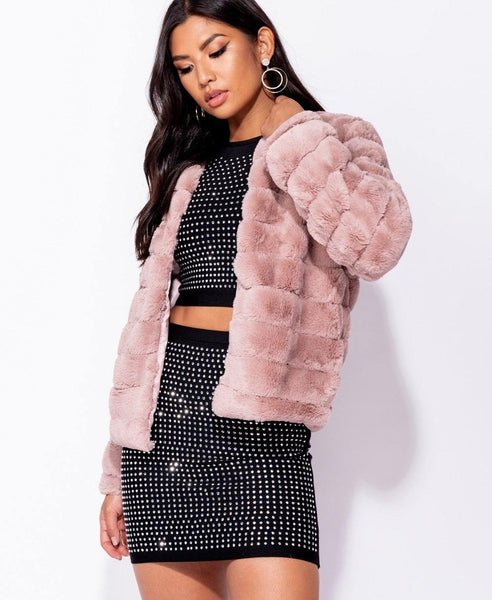 Fiona Faux Fur Jacket
