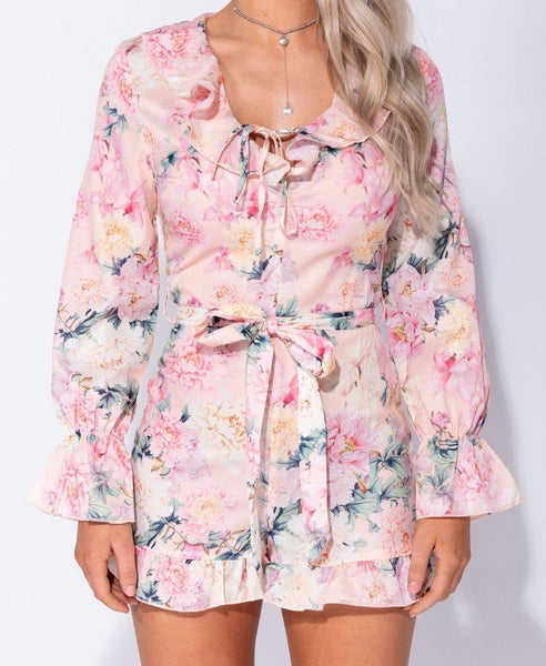 Jayla Floral Romper - House of Angelica