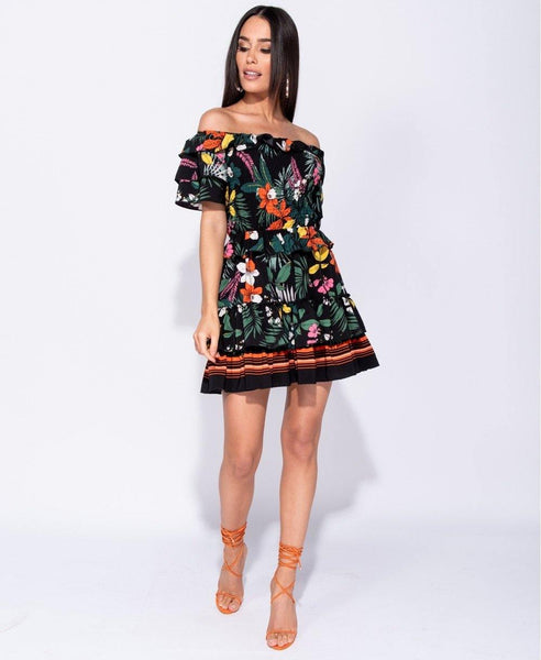 Harper Floral Dress - House of Angelica
