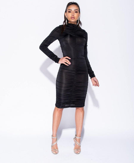 Cora Puff Sleeve Dress