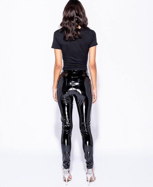Veronica Shiny High-Waist Legging