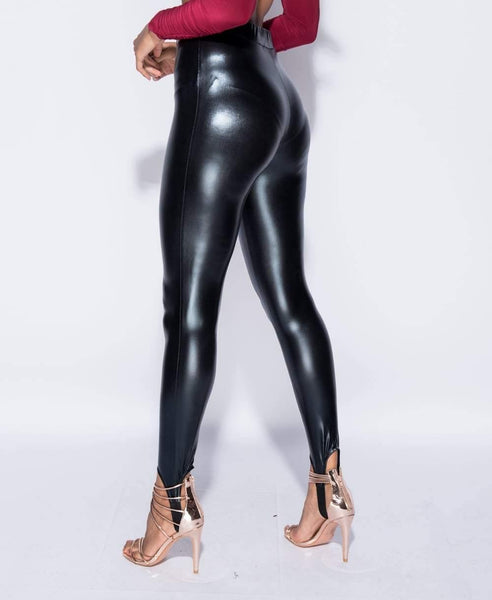 Alexa High Shine Legging - House of Angelica