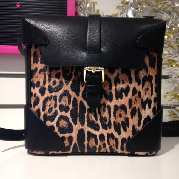 Purse - Sondra Roberts - Leopard - House of Angelica