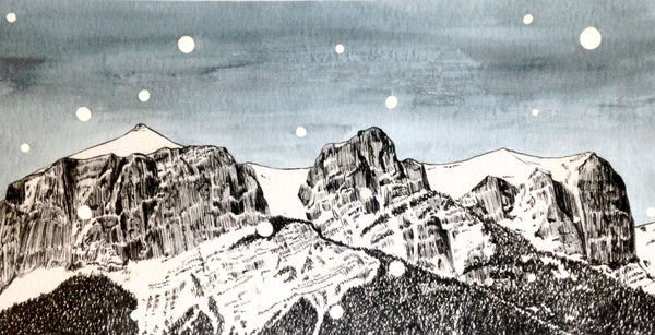 Art Print - Mt. Rundle, Banff - Numbered/Limited - 004