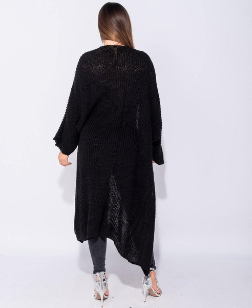 Adair Cardigan - Black - House of Angelica