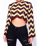London Crop Sweater