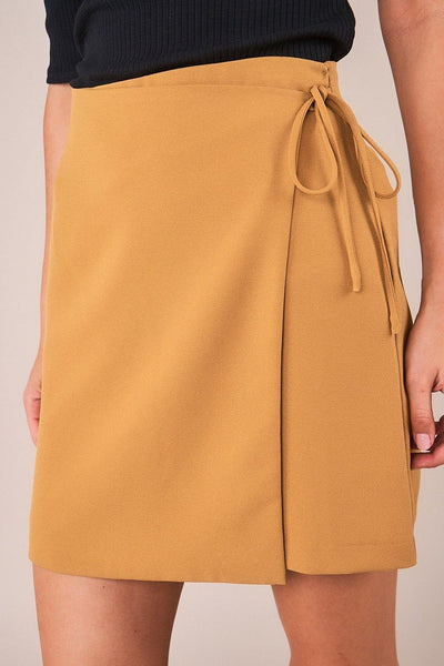 Golden Hour Wrap Skirt - House of Angelica