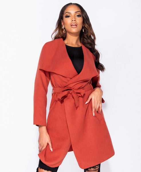 Finola Wrap Coat