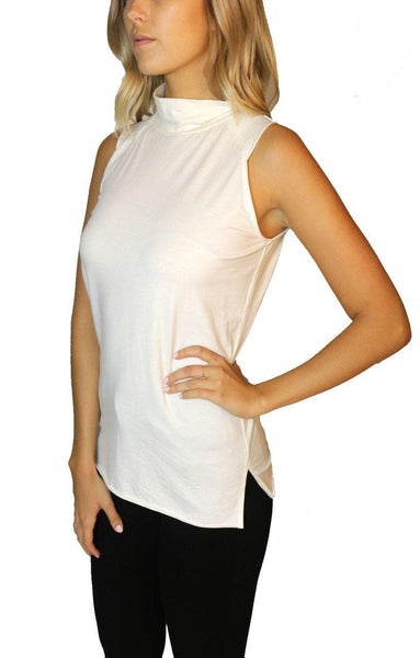 Highlands Mock Neck Tank - House of Angelica