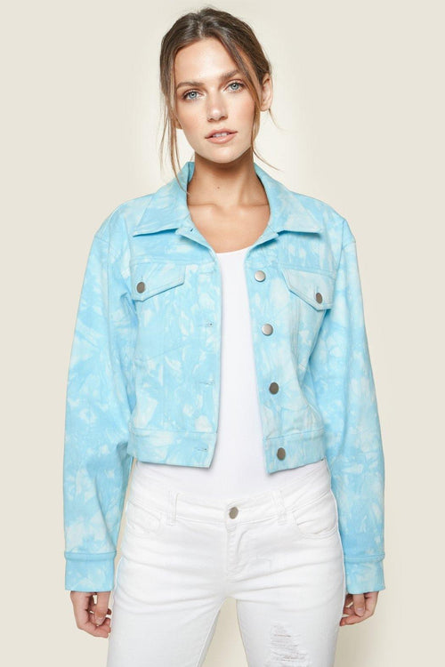 Stay Groovy Jean Jacket - House of Angelica