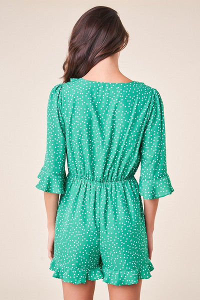Mint Julep Romper - House of Angelica