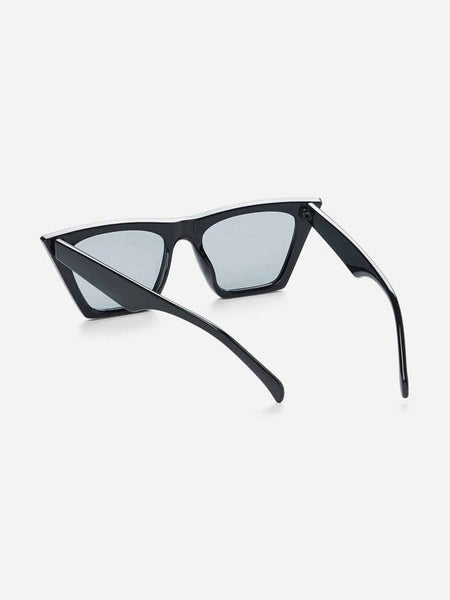 Sunglasses - Cat Eye Flat Lens - House of Angelica
