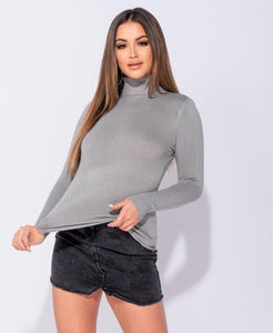 Camber Turtle Neck - Grey