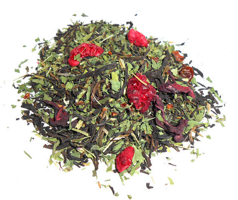 CRIMSON and CLOVER Artisan Tea, Organic - CynCraft
