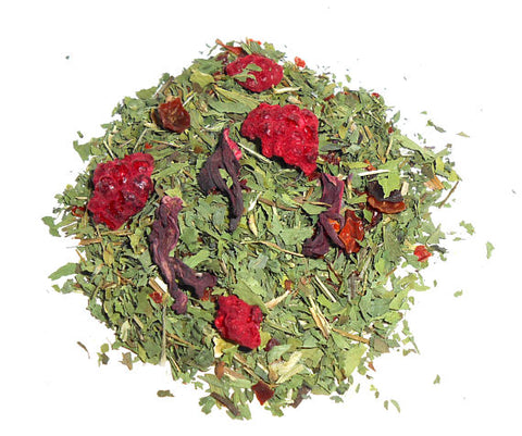 CRIMSON and CLOVER Artisan Herbal Tea, Organic - CynCraft