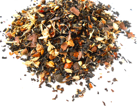 Dark Chocolate Spice - Artisan Herbal Tea Blend