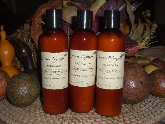 Lotion - ENCHANTING AUTUMN Collection - Lovely Fall Scents - CynCraft