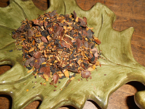FALLING LEAVES Artisan Tea Blend, Organic - CynCraft