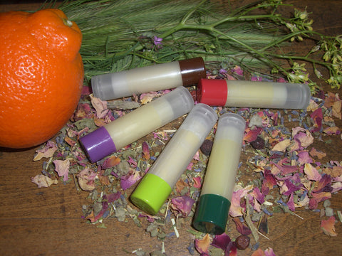 Lip Balm - The NATURE'S BOUNTY Collection - 21 Kissable, Luscious Recipes - CynCraft