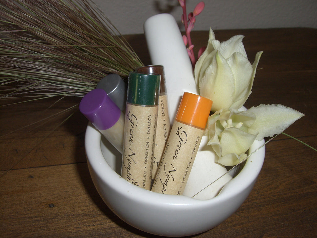 Lip Balm - SWEET SUMMER NATURALS Collection - 10 All-Natural Deliciously Fresh Scents - CynCraft