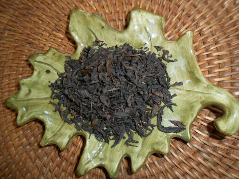 Oolong Loose Tea, Wu Long - Organic - CynCraft
