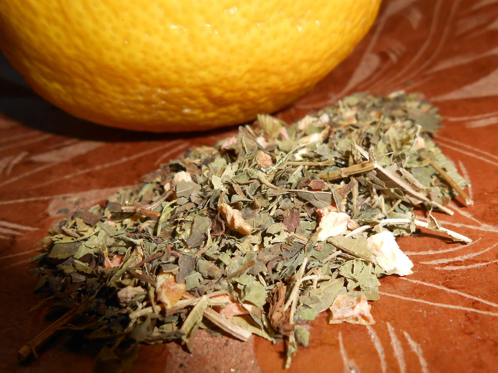 LEMON DROP Herbal Tea Blend, Organic - CynCraft