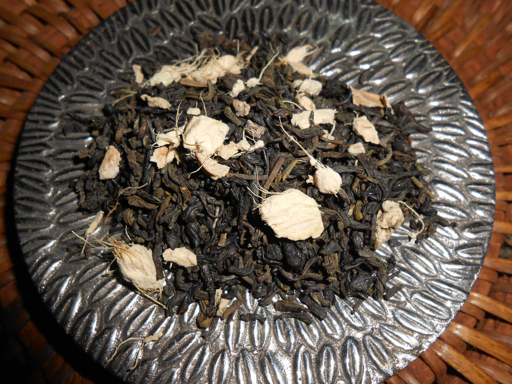 GINGER JAZZ Artisan Tea Blend, Organic - CynCraft