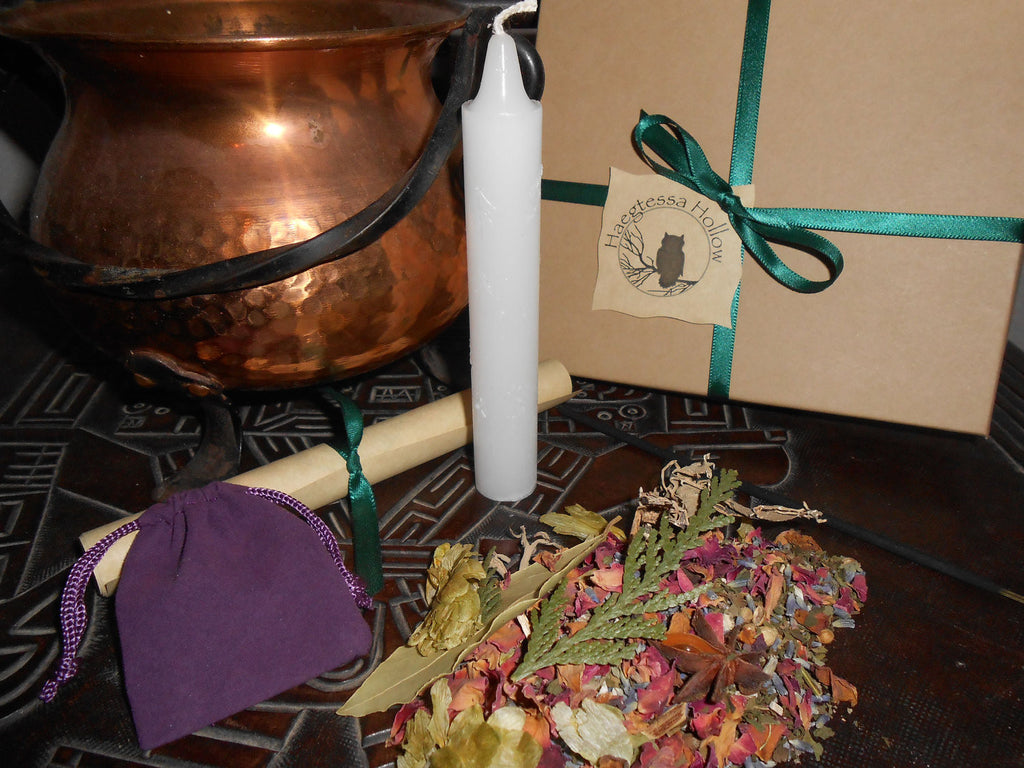 WEALTH and ABUNDANCE - What You Will™ DIY Ritual Kit - CynCraft