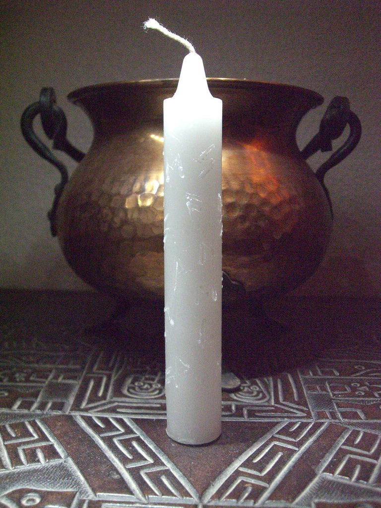RUNIC CANDLE BLESSING, Personalized - Inscribed Runes - Candle Craft Magic Ritual - CynCraft