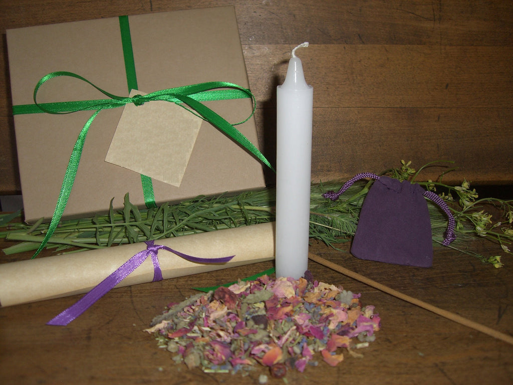SPRINGTIDE - Nature's Wheel™ DIY Ritual Kit - Ostara, Lenctentid, Vernal Equinox, Easter - CynCraft
