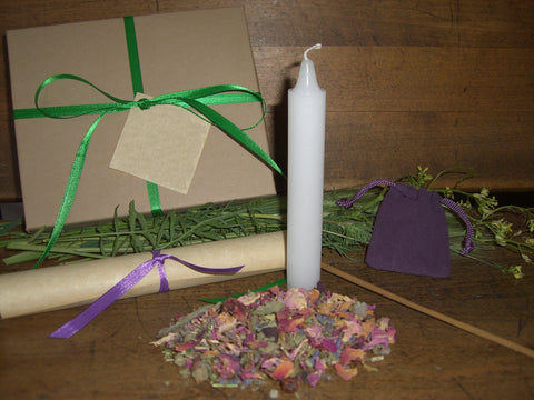 BELTANE - Nature's Wheel™ DIY Ritual Kit - Bealtaine, May Day, Walpurgis - CynCraft